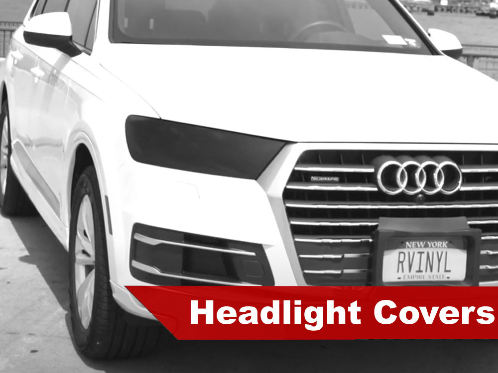 2009 Audi Q7 Headlight Tint Covers