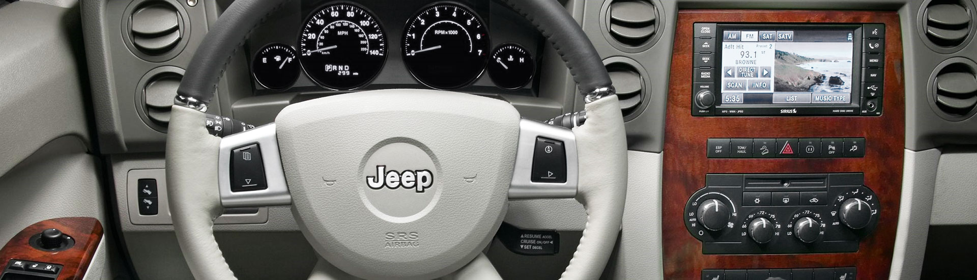 2010 Jeep Commander Custom Dash Kits