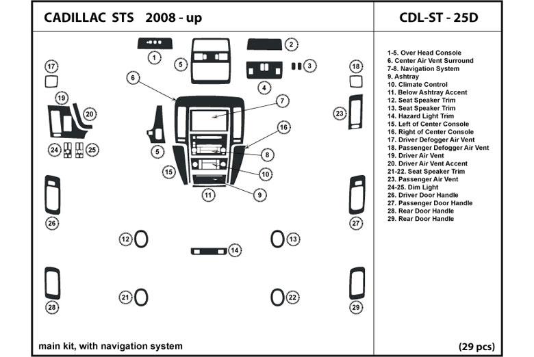Dl Auto U00ae Cadillac Sts 2008