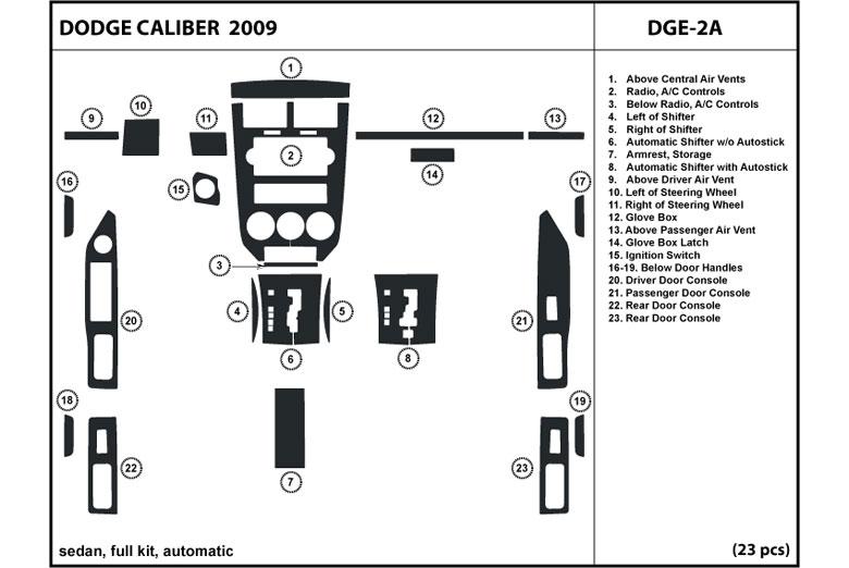 Dl Auto U00ae Dodge Caliber 2009 Dash Kits