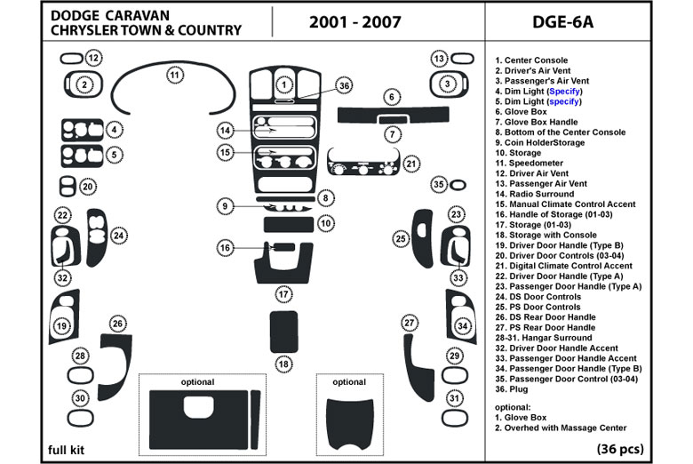 dl auto u00ae chrysler town and country 2001