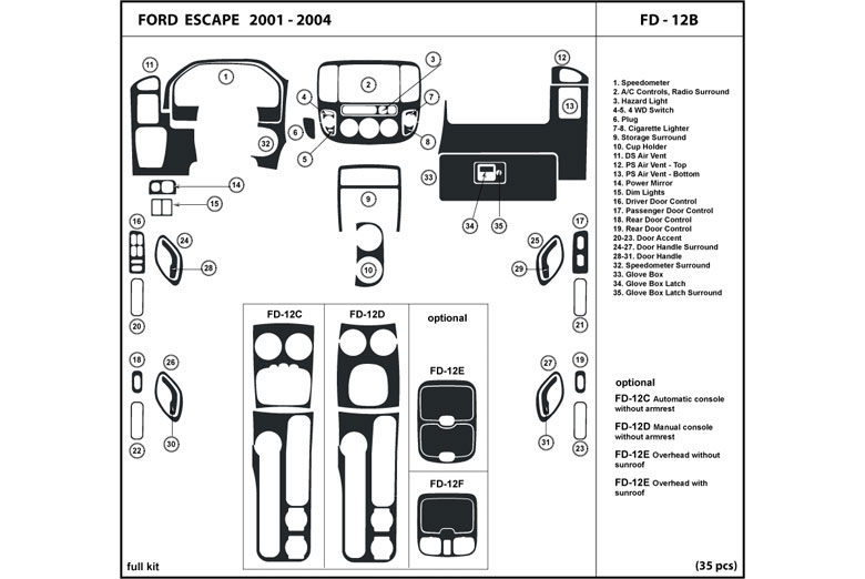 2001 ford escape lighting diagram html