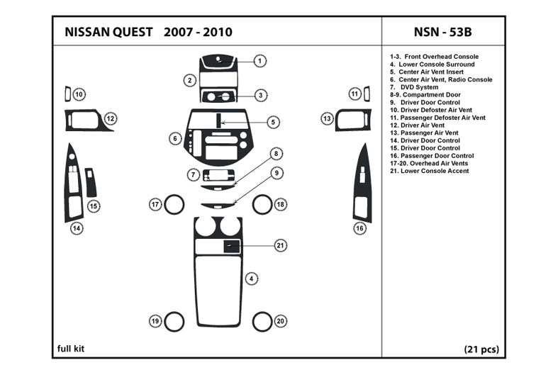 service manual  2007 nissan quest dash removal diagram  nissan quest auto parts online nissan quest manual 2007 2007 nissan quest service manual pdf