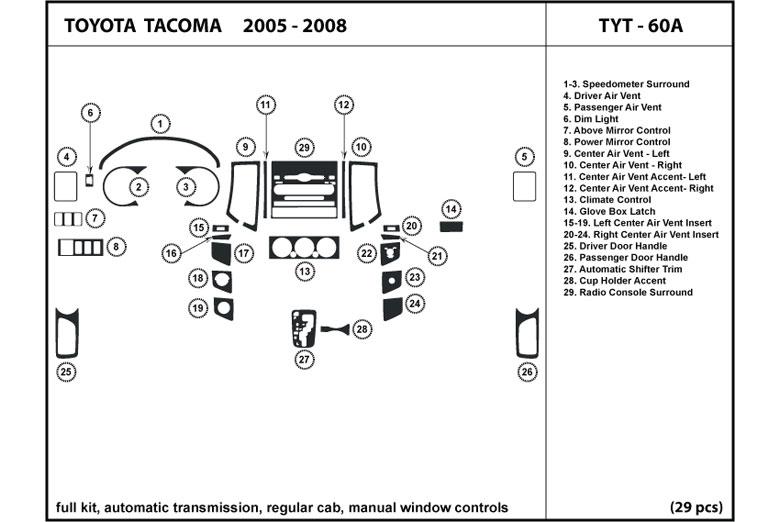 Dl Auto U00ae Toyota Tacoma 2005