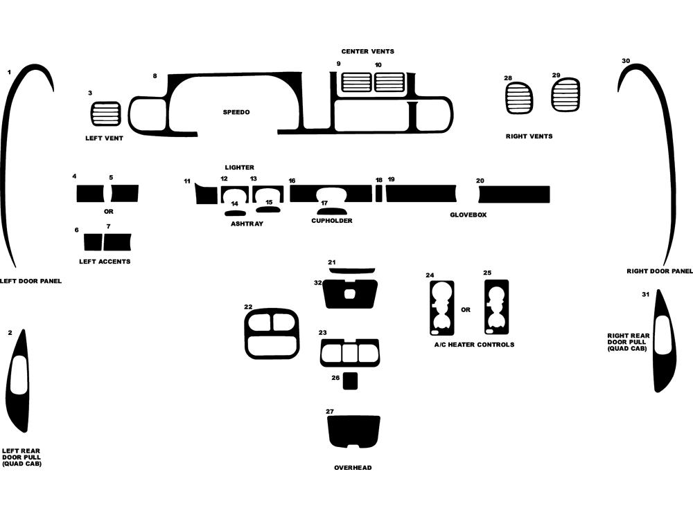 2001 dodge dash diagram