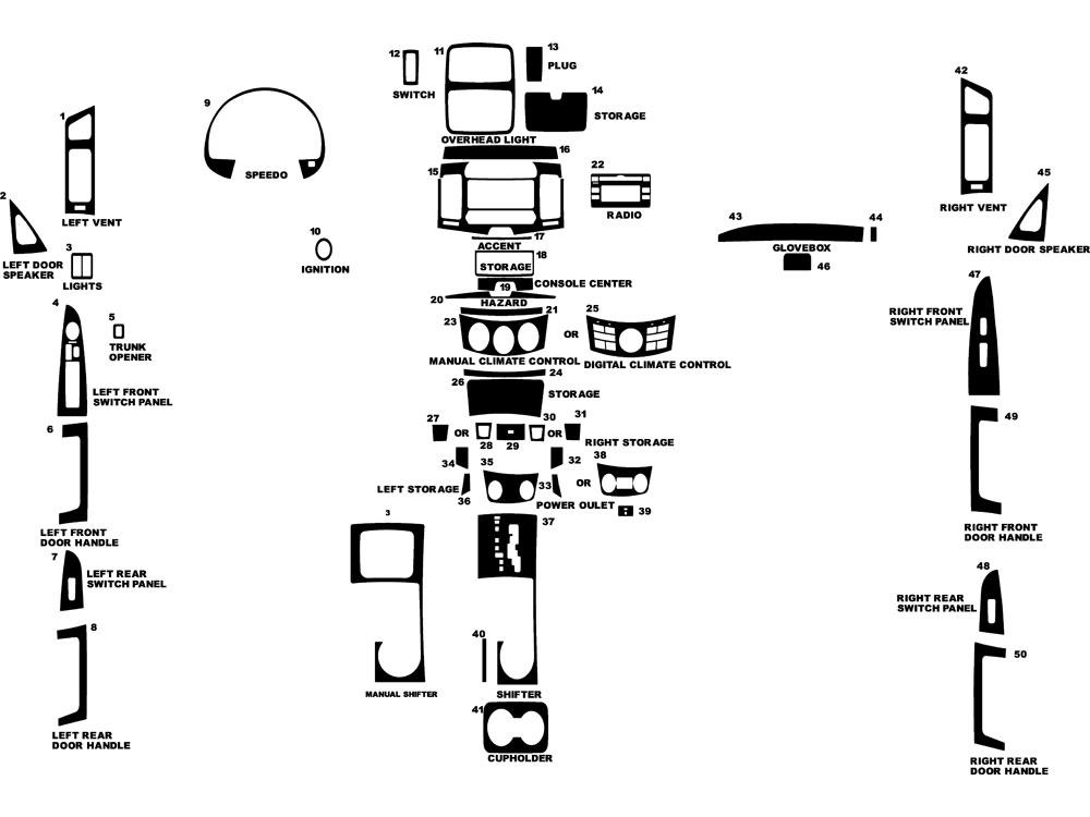 2008 hyundai elantra dash kits custom 2008 hyundai. Black Bedroom Furniture Sets. Home Design Ideas