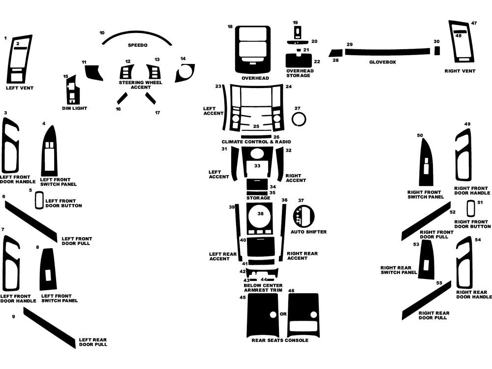 2008 infiniti fx45 dash kits custom 2008 infiniti fx45. Black Bedroom Furniture Sets. Home Design Ideas
