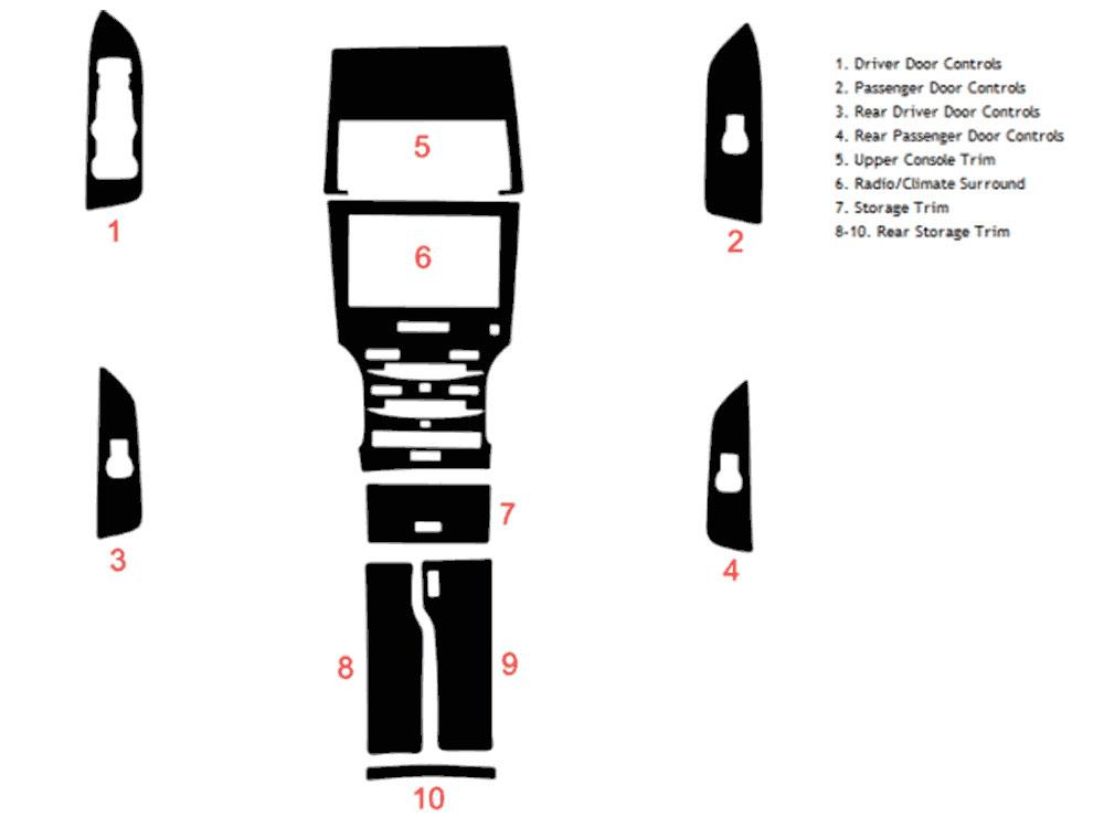 2013 Lincoln Mkz Dash Kits