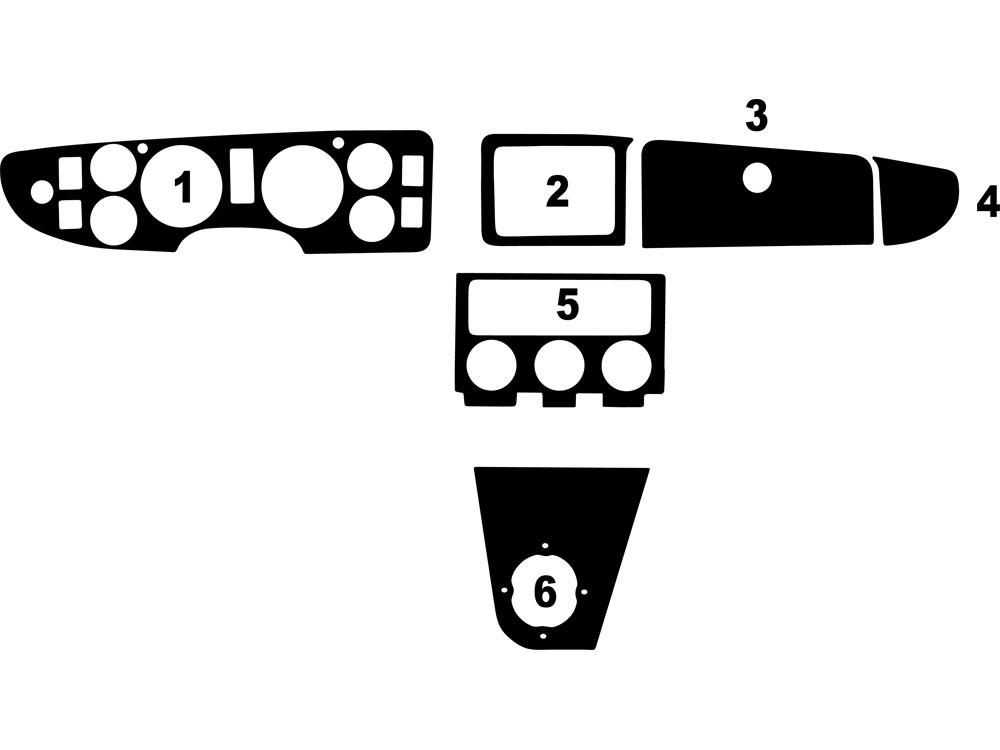 1980 mg mgb dash kits