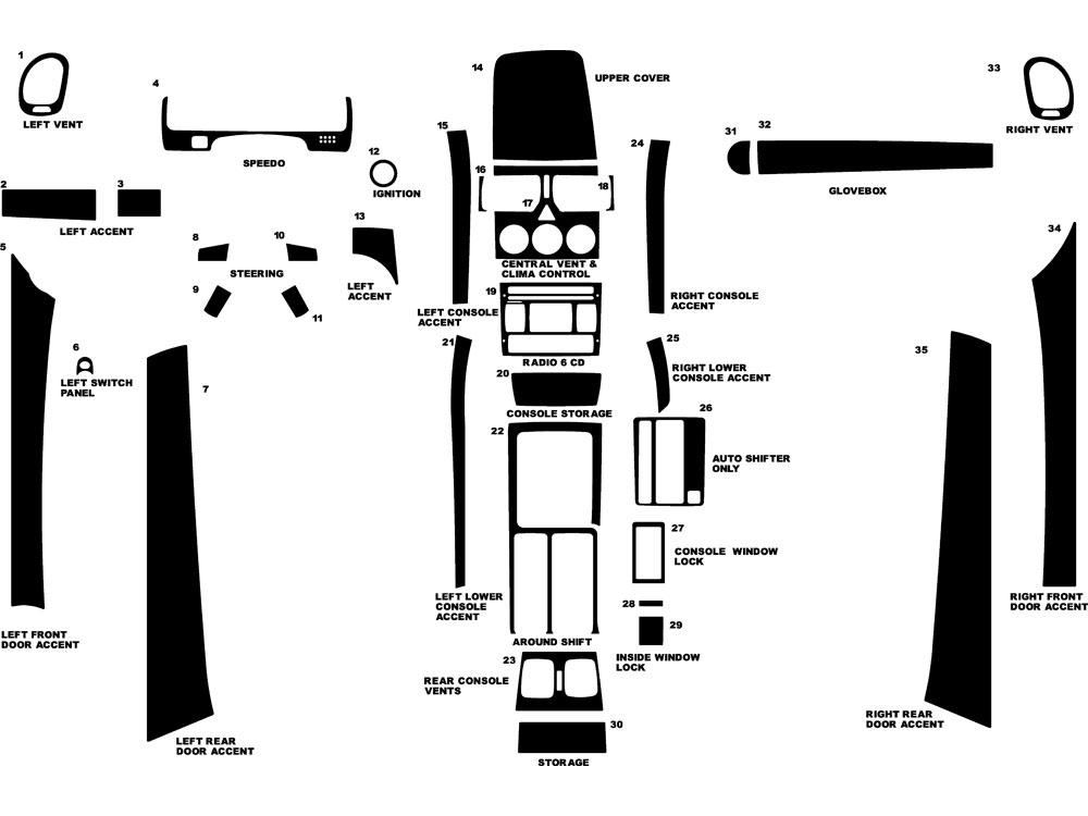 2005 Pontiac Gto Dash Kits