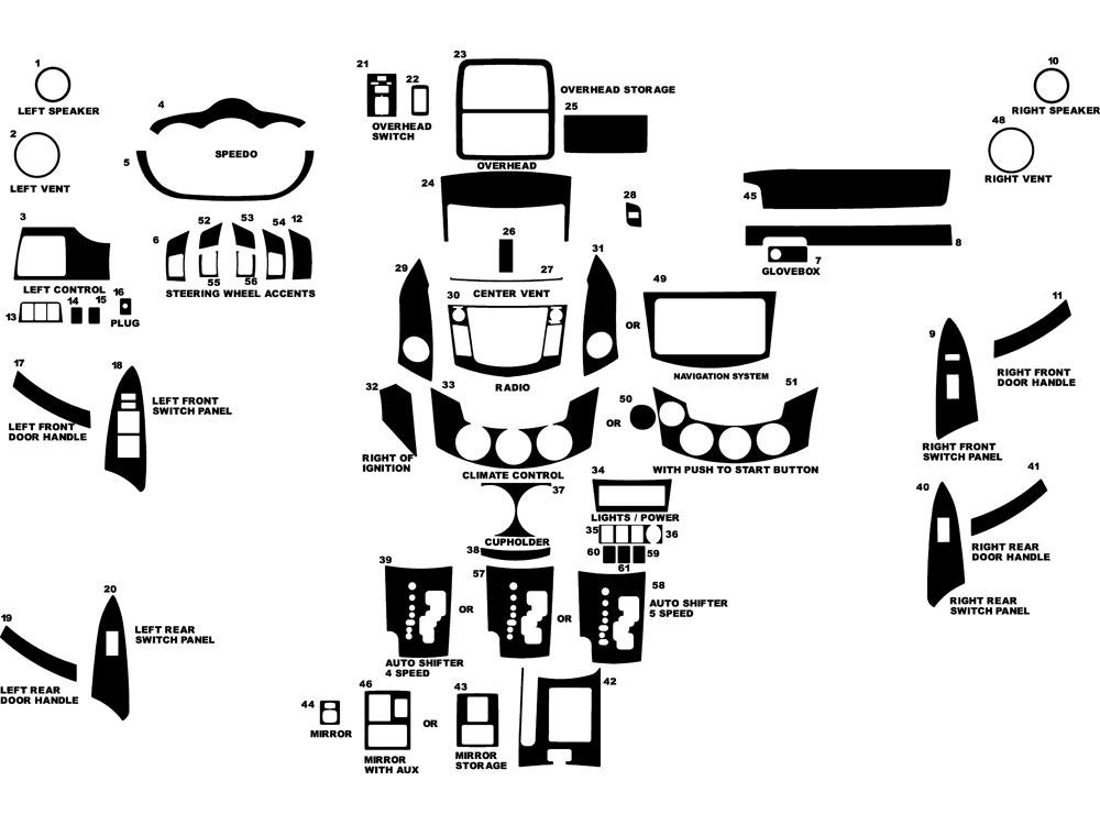 2011 toyota rav4 dash kits