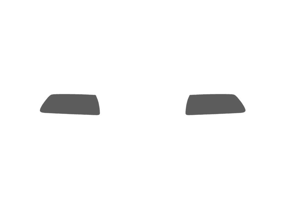 Chevrolet Corvette 2005-2013 Fog Light Protection Covers Diagram