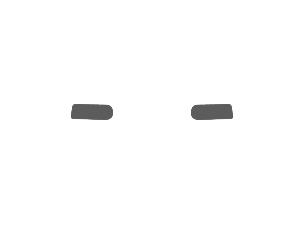 Chevrolet Silverado 1999-2002 Fog Light Protection Covers Diagram