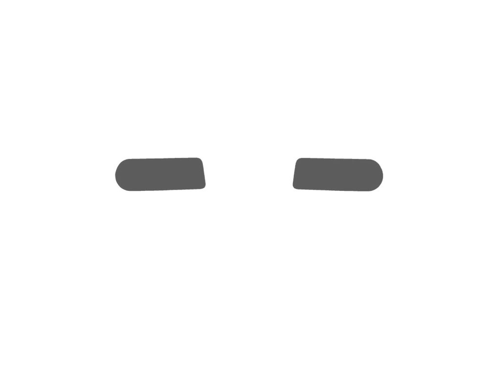 GMC Yukon 2000-2006 Fog Light Protection Covers Diagram