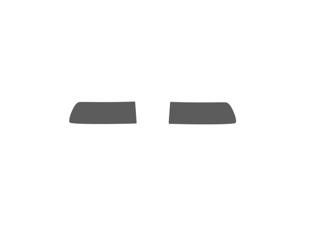 Saab 9-3 2003-2007 Fog Light Protection Covers Diagram