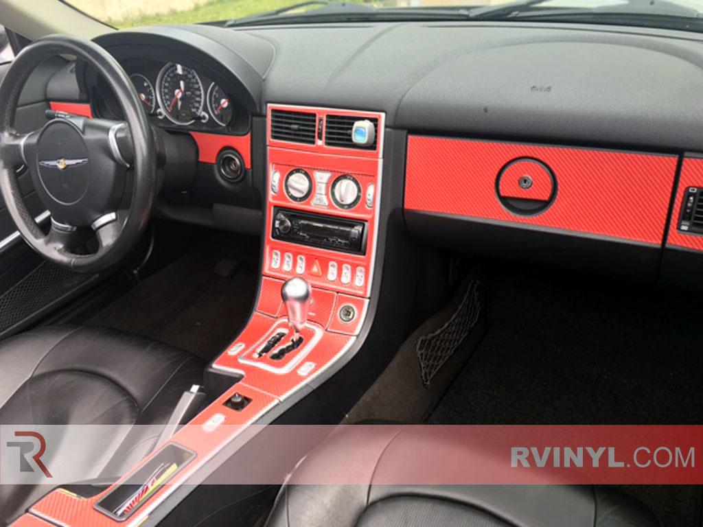 Chrysler crossfire 2004 2008 dash kits diy dash trim kit - 2004 chrysler crossfire interior ...