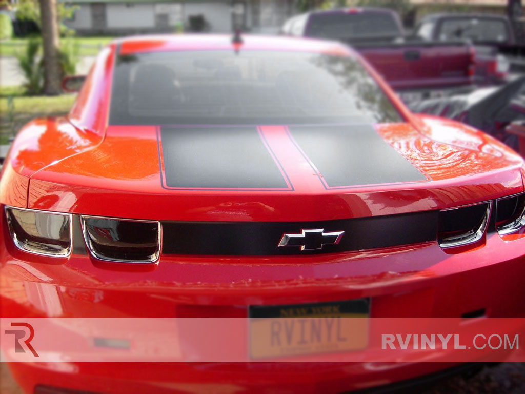 Chevrolet Camaro Tail Light Tints