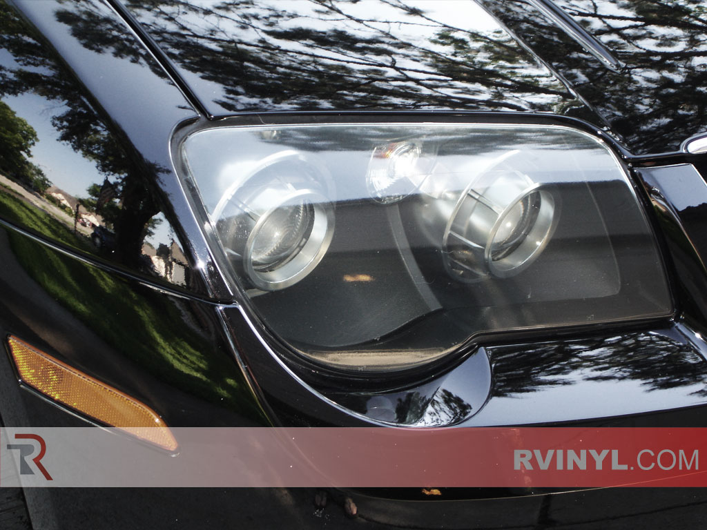 Service Manual Replace Headlights In A 2008 Chrysler