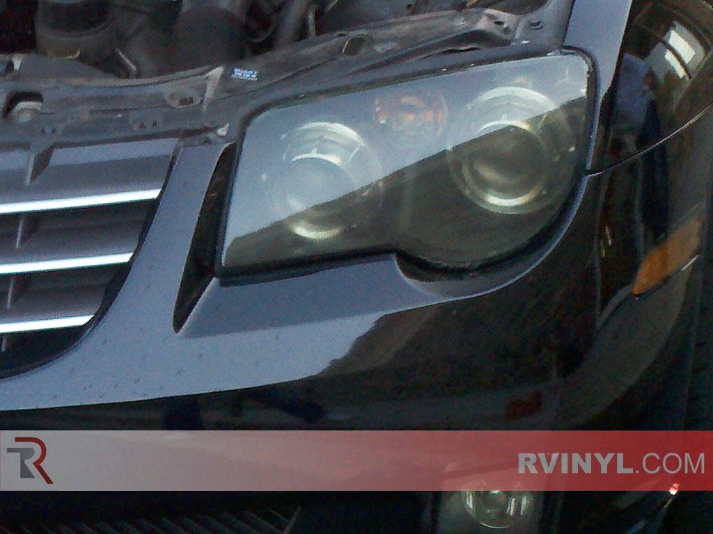 Rtint Chrysler Crossfire 2004 2008 Headlight Tint Film
