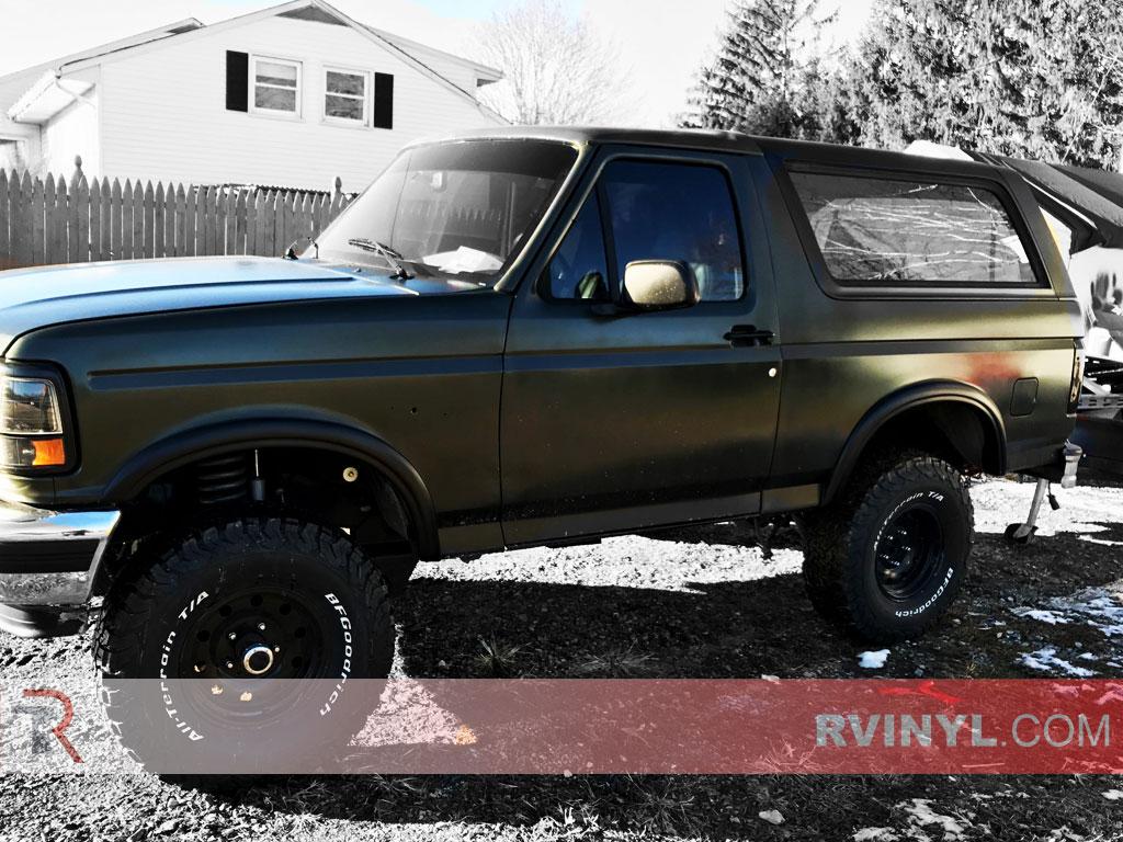 Rtint Ford Bronco 1990 1996 Window Tint Kit Diy Precut