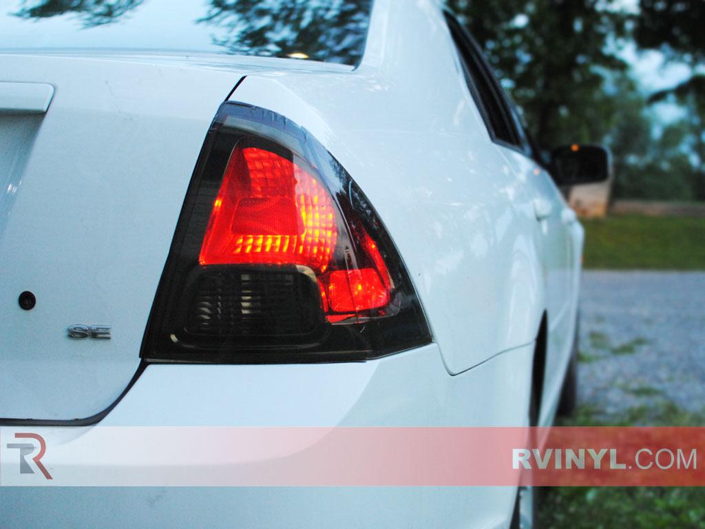 Rtint 174 Ford Fusion 2006 2009 Tail Light Tint Film