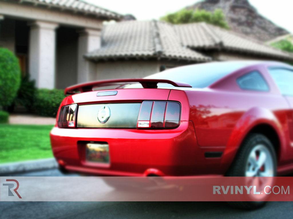 Rtint 174 Ford Mustang 2005 2009 Tail Light Tint Film