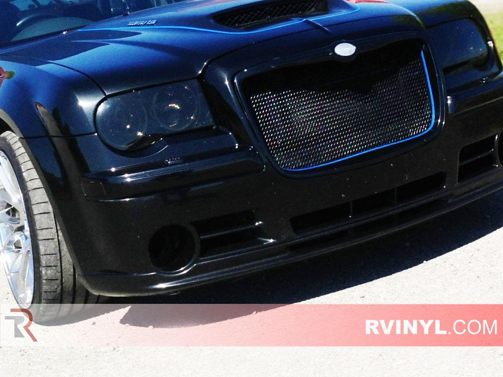 Chrysler Smoked Headlight Protection Covers