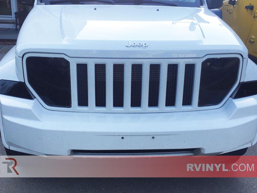 Jeep Headlight Film