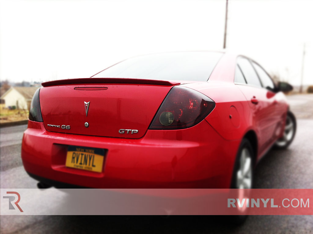 Rtint 174 Pontiac G6 Sedan 2006 2009 Tail Light Tint Film