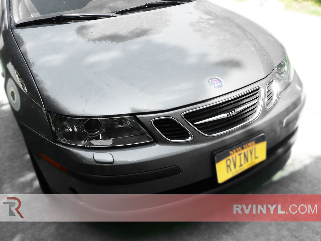 Rtint Saab 9 3 2003 2007 Headlight Tint Film