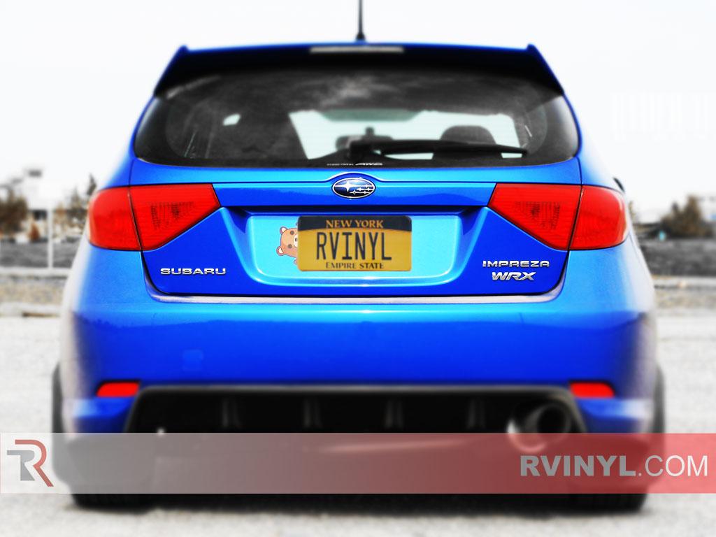 Rtint 174 Subaru Impreza Wagon 2008 2011 Tail Light Tint Film