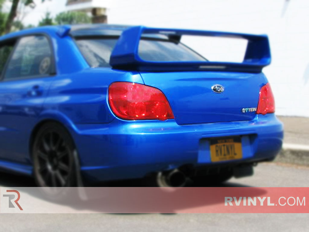 Rtint 174 Subaru Wrx Sti 2006 2007 Tail Light Tint Film