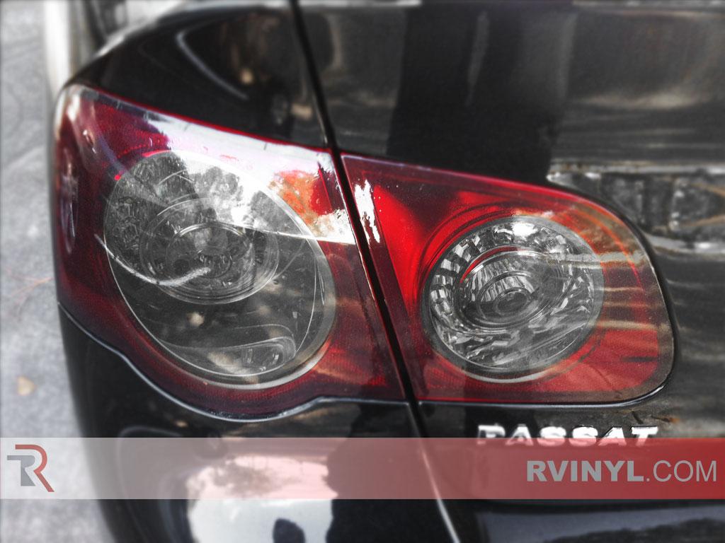 rtint volkswagen passat   tail light tintfilm