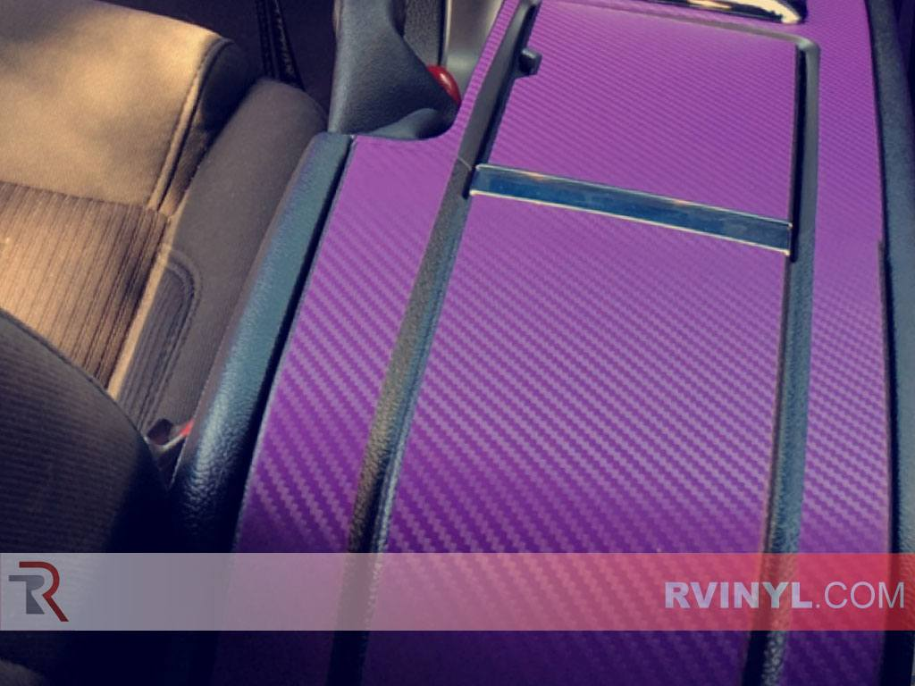 Rwraps Purple 3d Carbon Fiber Vinyl Wrap Car Wrap Film