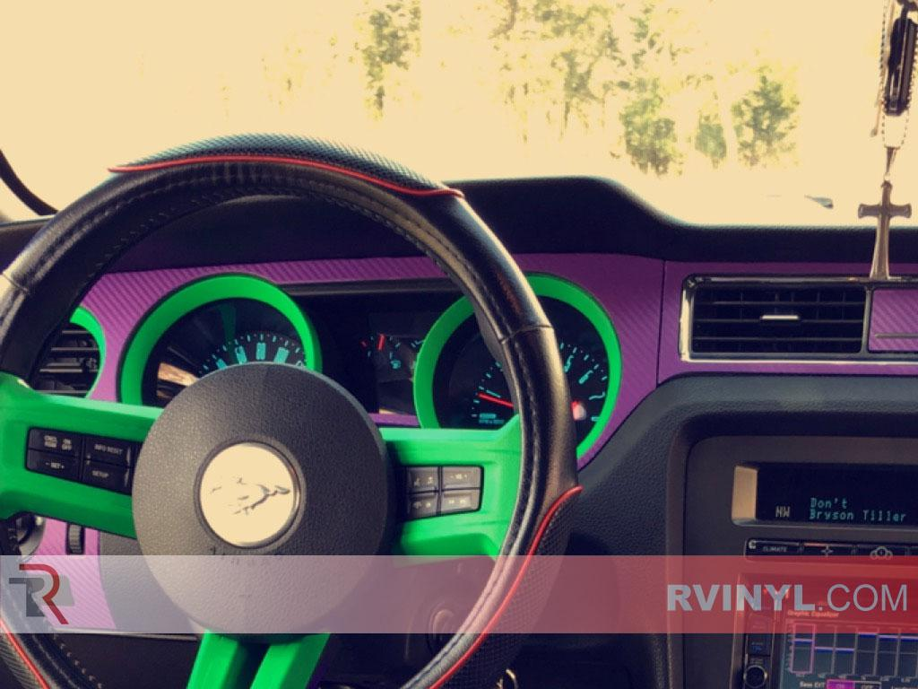 Rwraps Purple 3d Carbon Fiber Vinyl Wrap Car Wrap Film