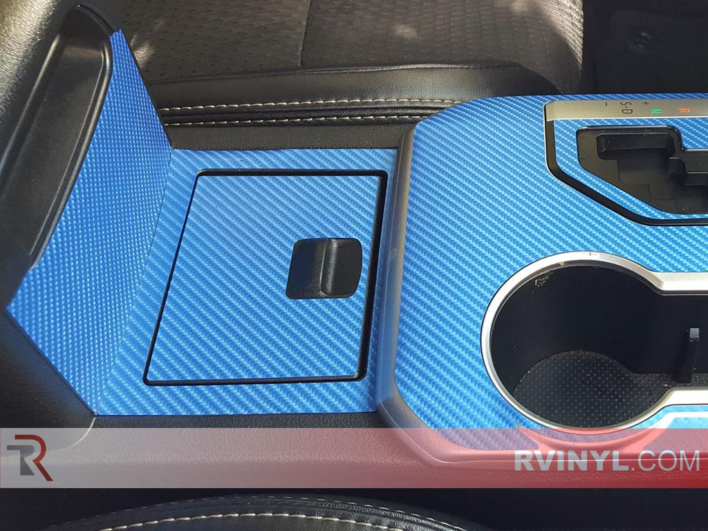Rwraps Blue 4d Carbon Fiber Vinyl Wrap Car Wrap Film