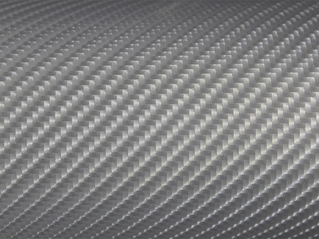 Rwraps Silver 4d Carbon Fiber Vinyl Wrap Car Wrap Film