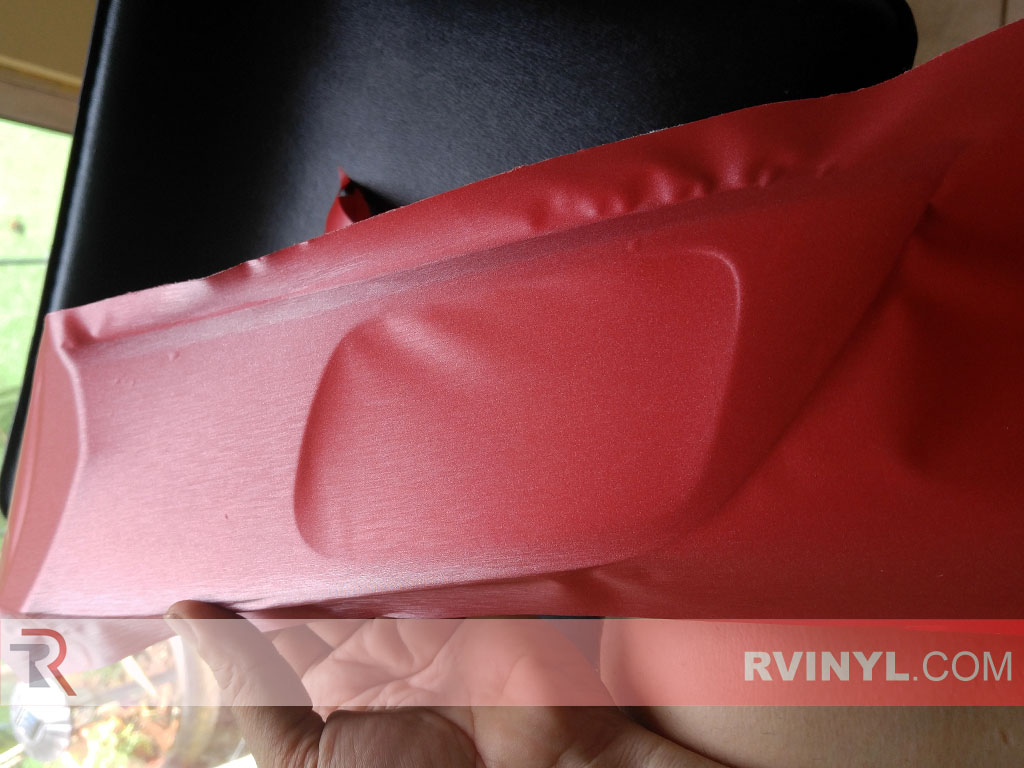 Rwraps Red Brushed Aluminum Vinyl Wrap Car Wrap Film