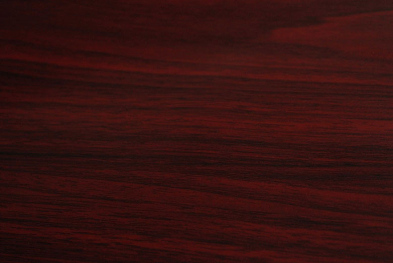 Mahogany Wood Grain Vinyl Film Swatch