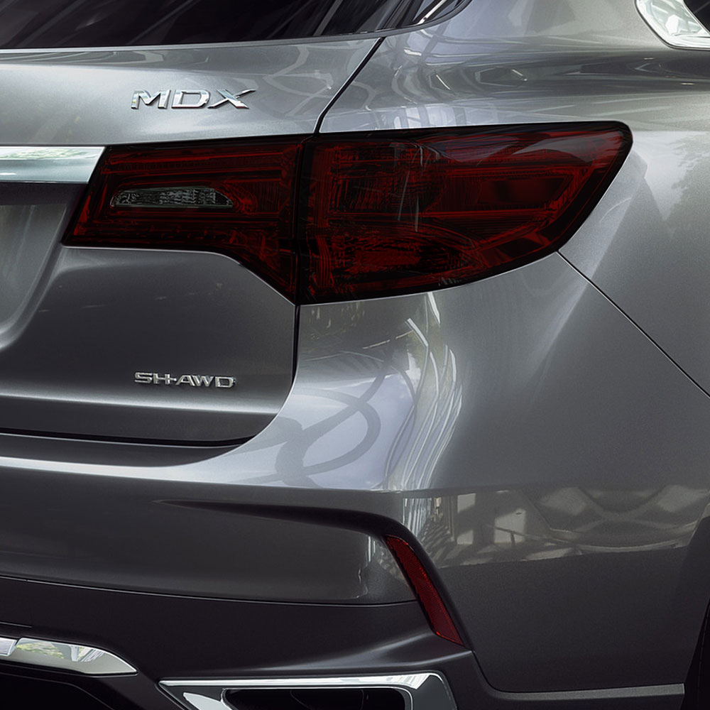 Rtint Tail Light Tint Precut Smoked Film Covers For Acura