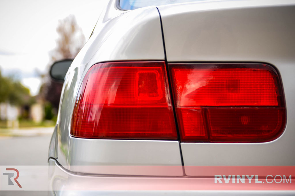 Wrapped Civic HX Taillights - Rvinyl Purple Tint