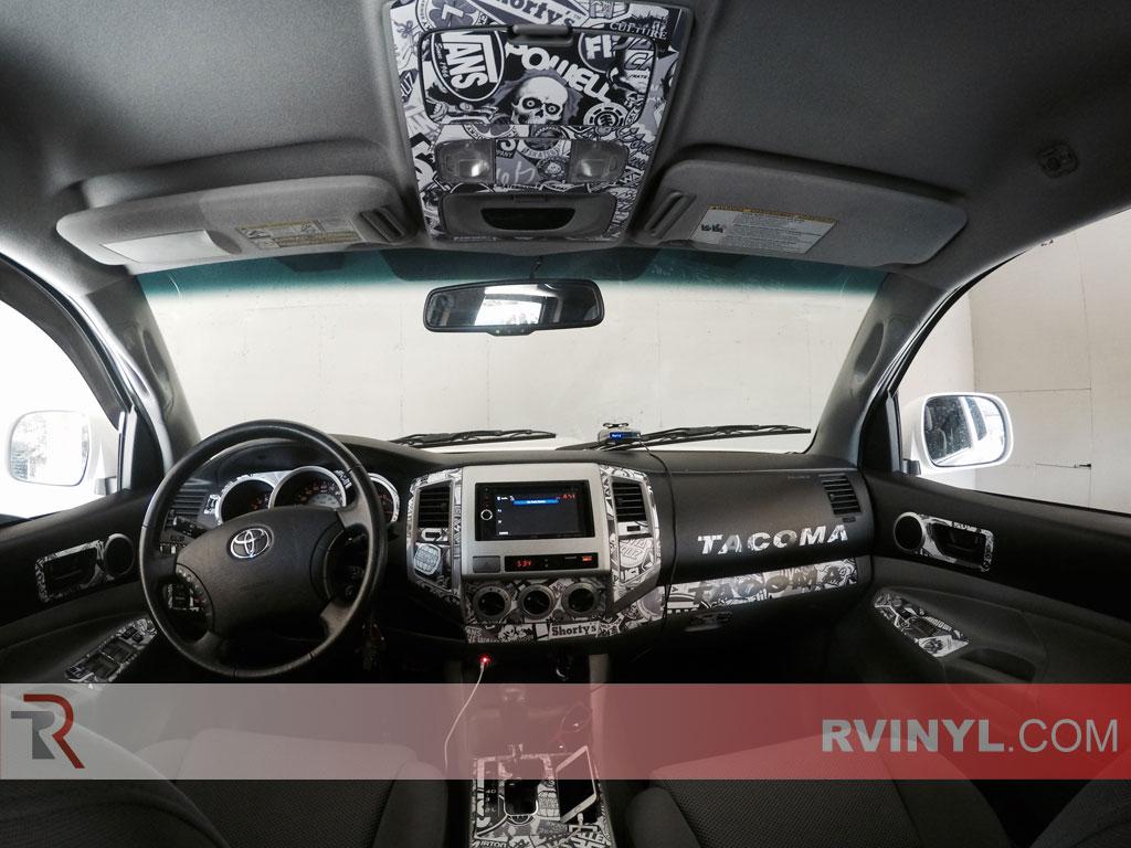 Toyota Tacoma Sticker Bombed Dash Kit