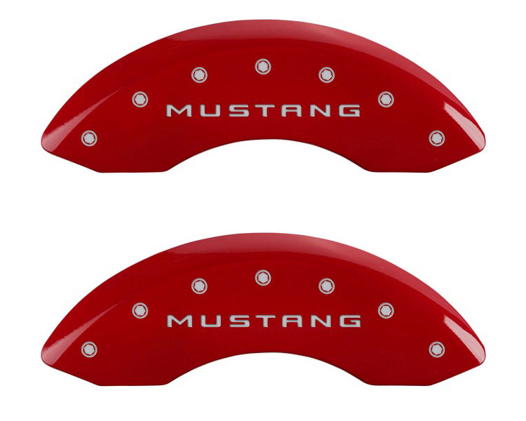 2011 Ford Mustang MGP Caliper Brake Covers