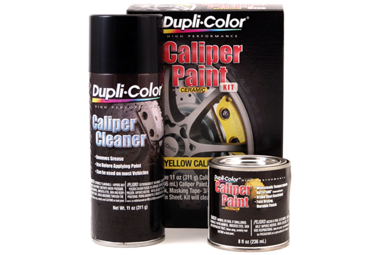 2009 Jeep Liberty Dupli-Color Caliper Paint Kit