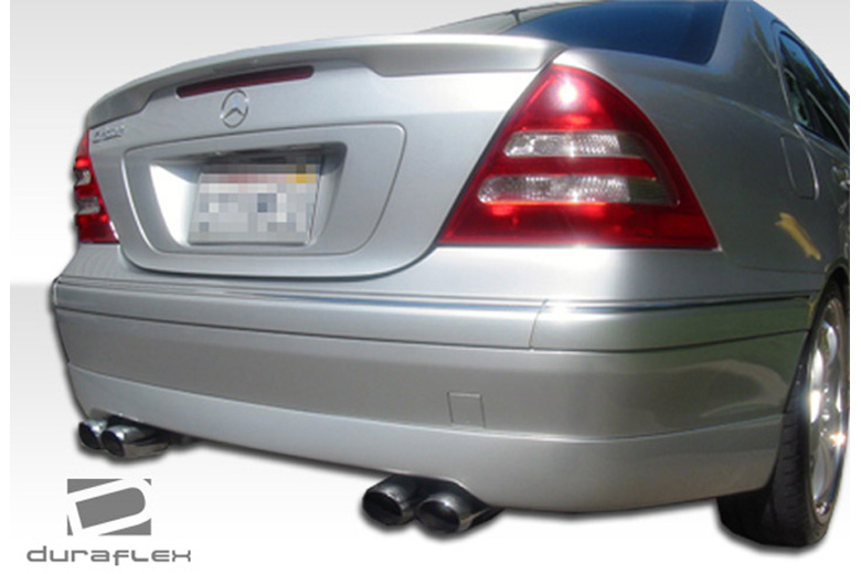 2001 Mercedes C-Class Duraflex CR-S Rear Lip (Add On)
