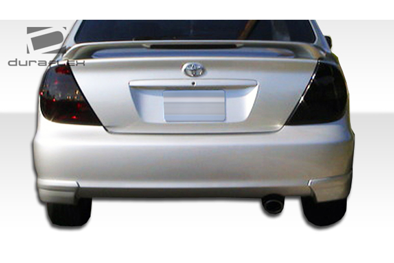 duraflex toyota camry 2002 2006 vortex rear lip add on. Black Bedroom Furniture Sets. Home Design Ideas