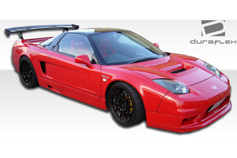 2004 Acura NSX Duraflex GT Competition Sideskirts