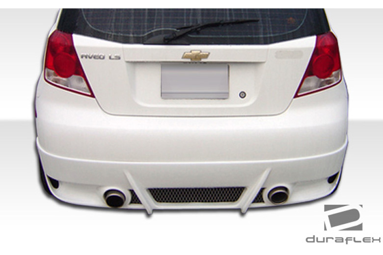 2006 Chevrolet Aveo Duraflex Racer Rear Lip (Add On)