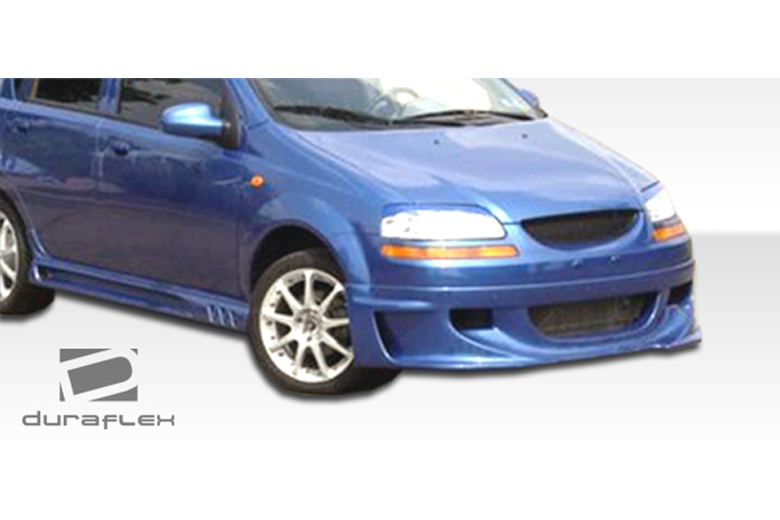 2006 Chevrolet Aveo Duraflex Racer Body Kit