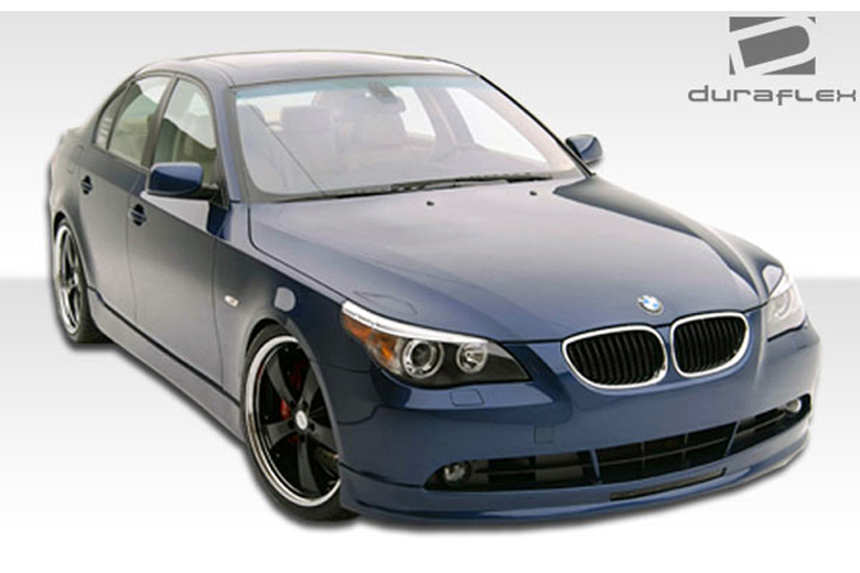 extreme dimensions bmw 5 series 2004 2007 zenetti front lip add on. Black Bedroom Furniture Sets. Home Design Ideas